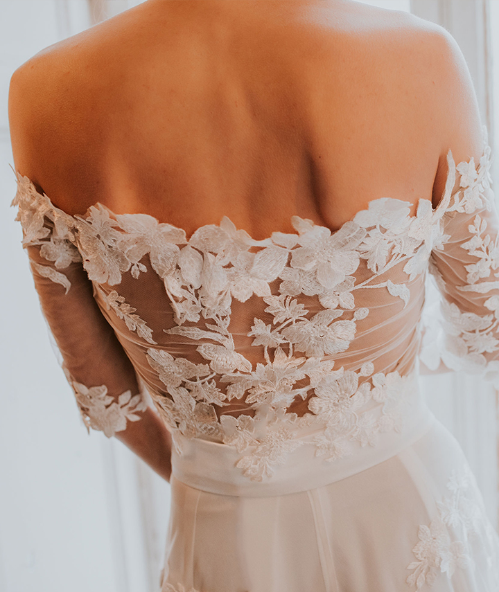 Ldira Skirt And Alexia Top LaceWedding Dress By 29 Atelier London Bromley