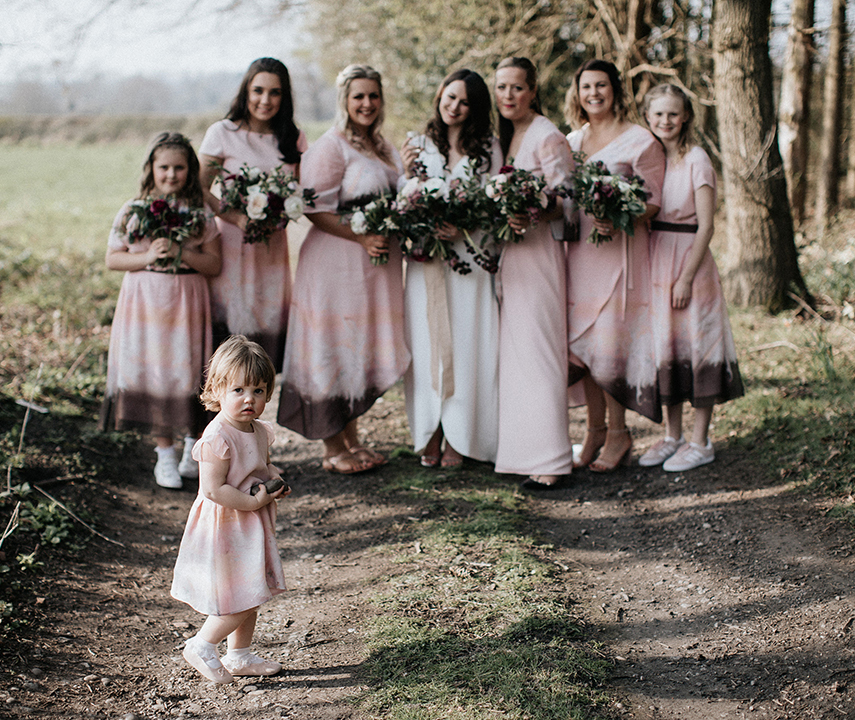 Bride Tribe Bridemaid Dresses By 29 Atelier London Bromley