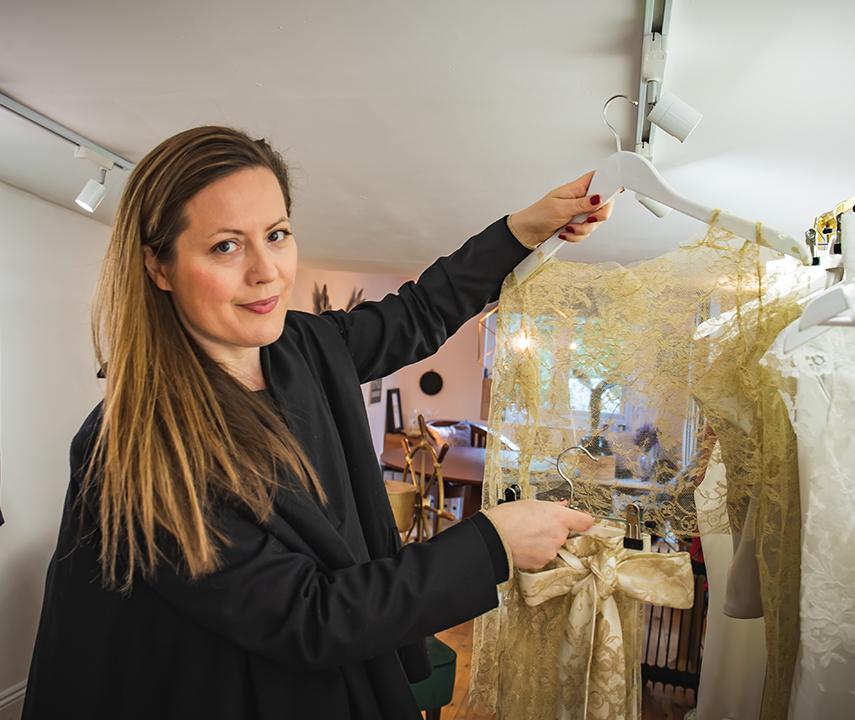 Designer Elizabeth Ruddick 29 Atelier London