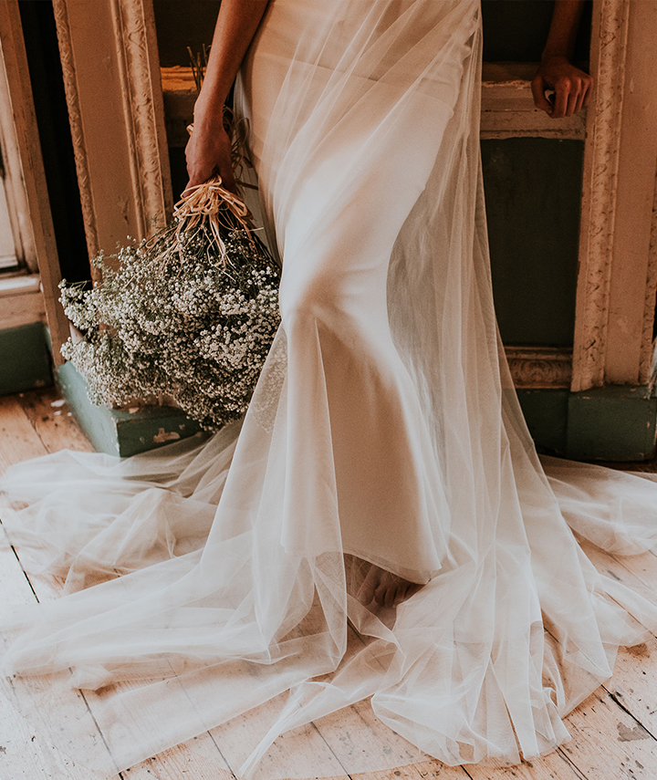 Tulle Wedding Dress By 29 Atelier London Bromley