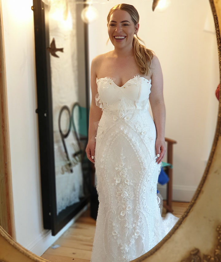 Bespoke Wedding Dress 29 Atelier Bromley London