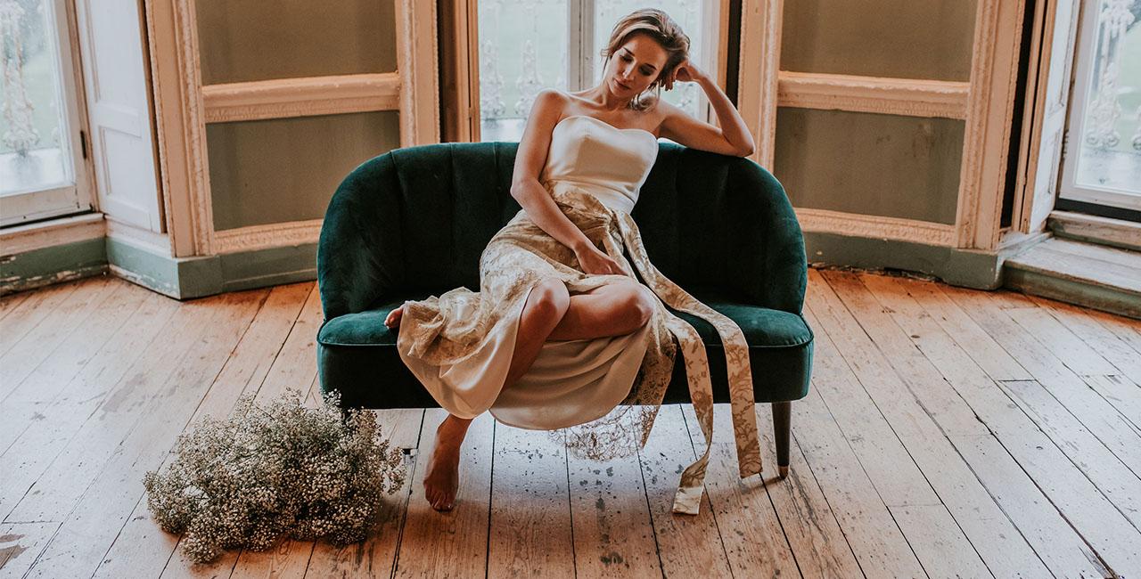 Savannah Wrap Skirt & Rose Corset 29 Atelier London