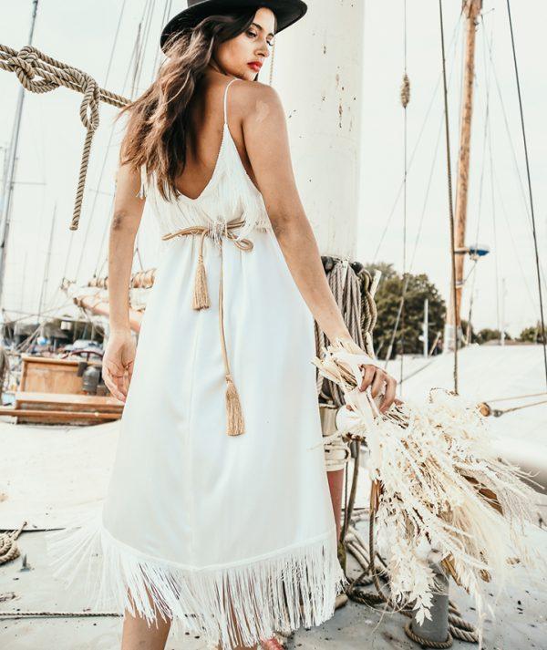 Alpha Dress Rear View By 29 Atelier London Luxury Bridal Wear