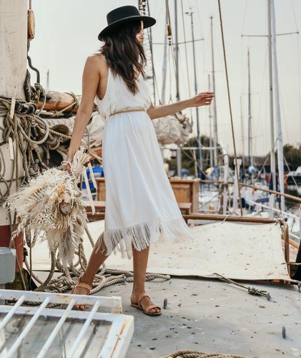 Alpha Dress Side View By 29 Atelier London Luxury Bridal Wear