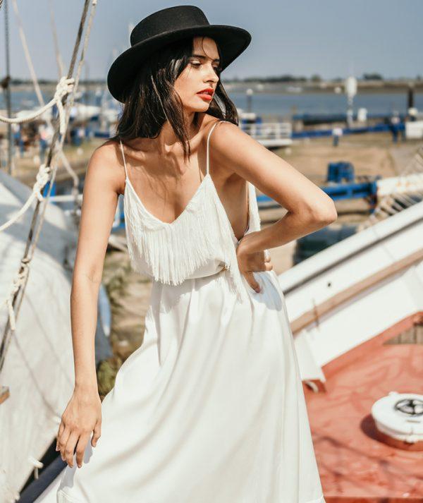 Alpha Dress Half View By 29 Atelier London Luxury Bridal Wear