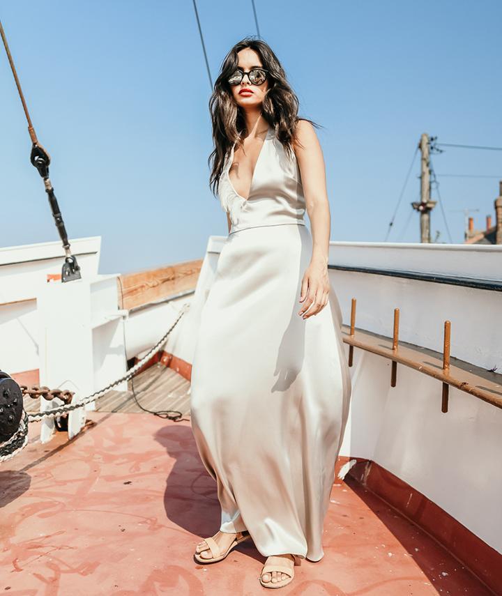 Bia Dress Full Length By 29 Atelier London Luxury Bridal Wear