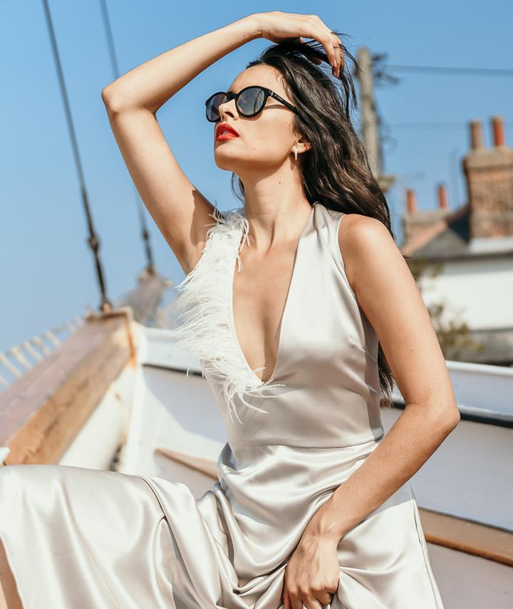 Bia Dress By 29 Atelier London Luxury Bridal Wear