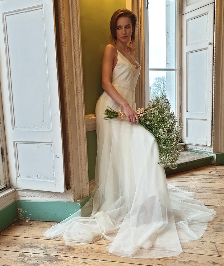 Ellen Dress And Rota Tulle Skirt By 29 Atelier London Side