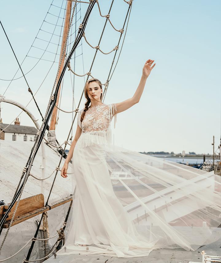 Hebe Top By 29 Atelier London Luxury Bridal Wear