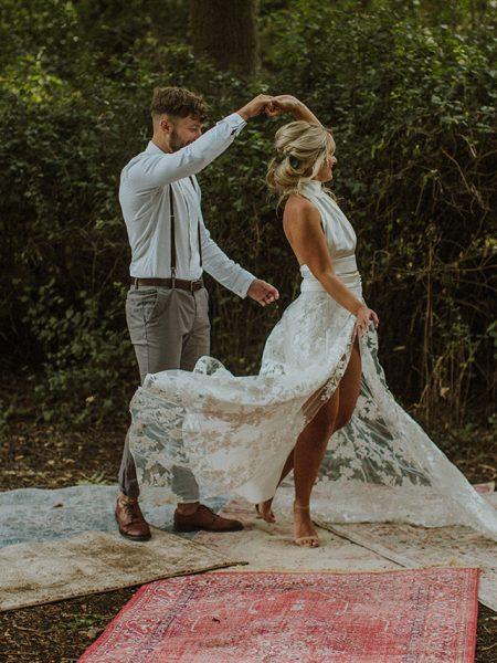 Woodland Wedding Bridal Wear Inspiration