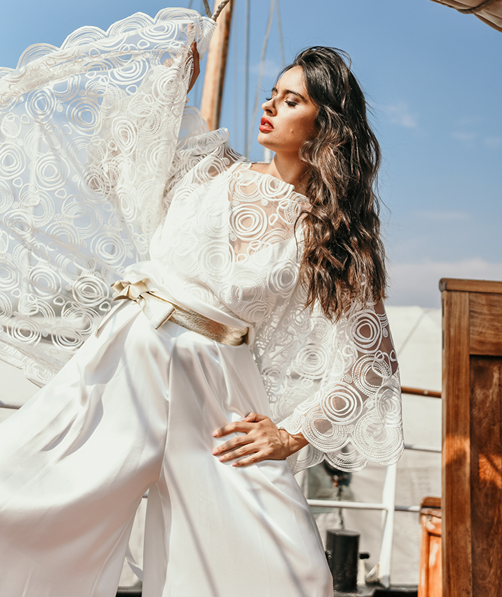 Sphere Cape By 29 Atelier London Luxury Bridal Wear
